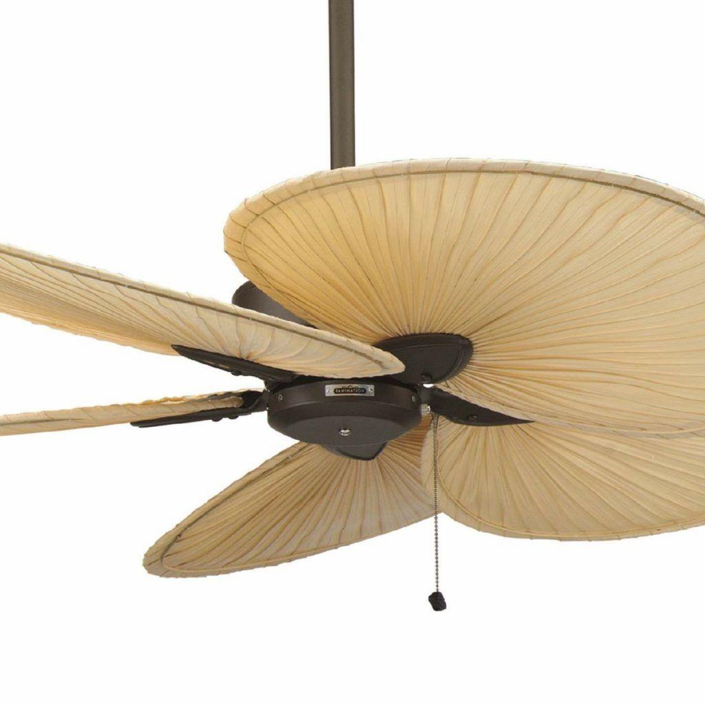 Harbor Breeze Ceiling Fan With Palm Leaf Blades Ceiling Fan Fan