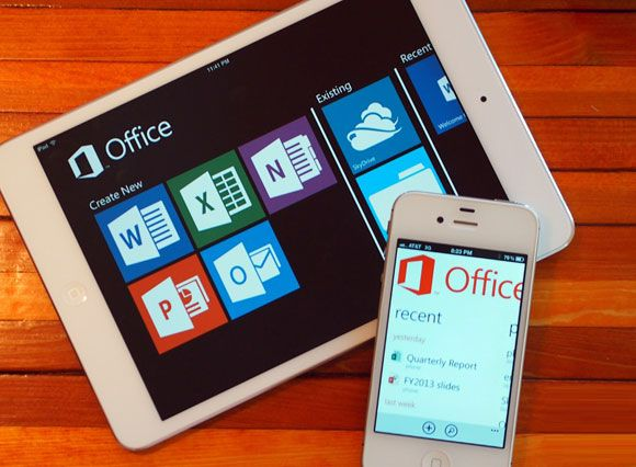 Latest Microsoft Office Apps on iPhone and iPad