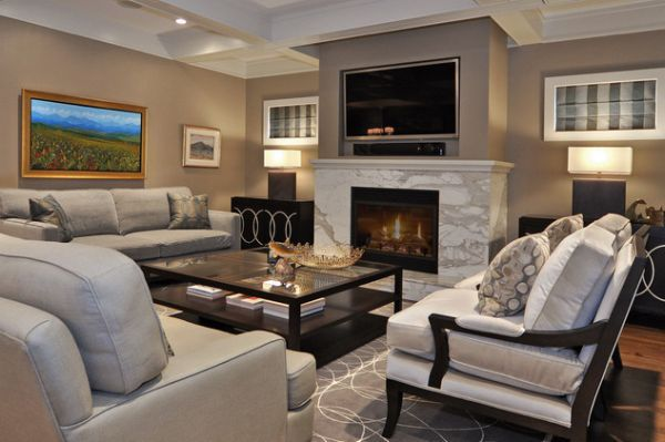 125 Living Room Design Ideas Focusing On Styles And Interior Cool Living Rooms With Fireplaces Design Inspiration