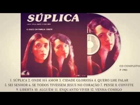 Stella Marys e Rose Mery   Súplica Cd Completo Melodia Cristã 1983