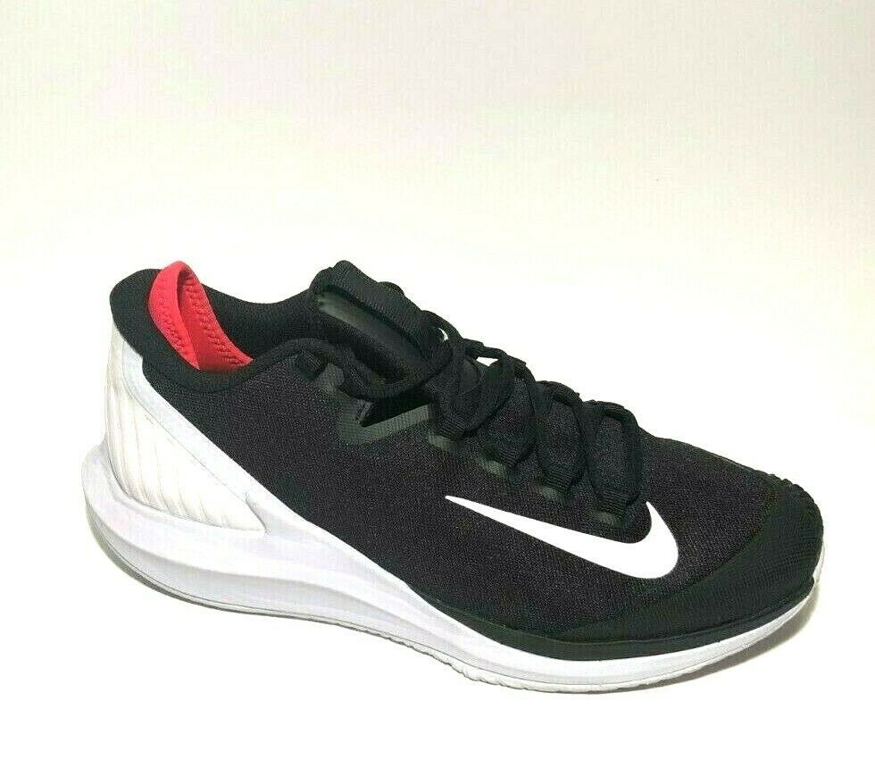 Details About Nike Air Zoom Zero Hc Tennis Shoes Mens 9 Black White Aa8018 016 Nike Air Zoom Tennis Shoes Nike