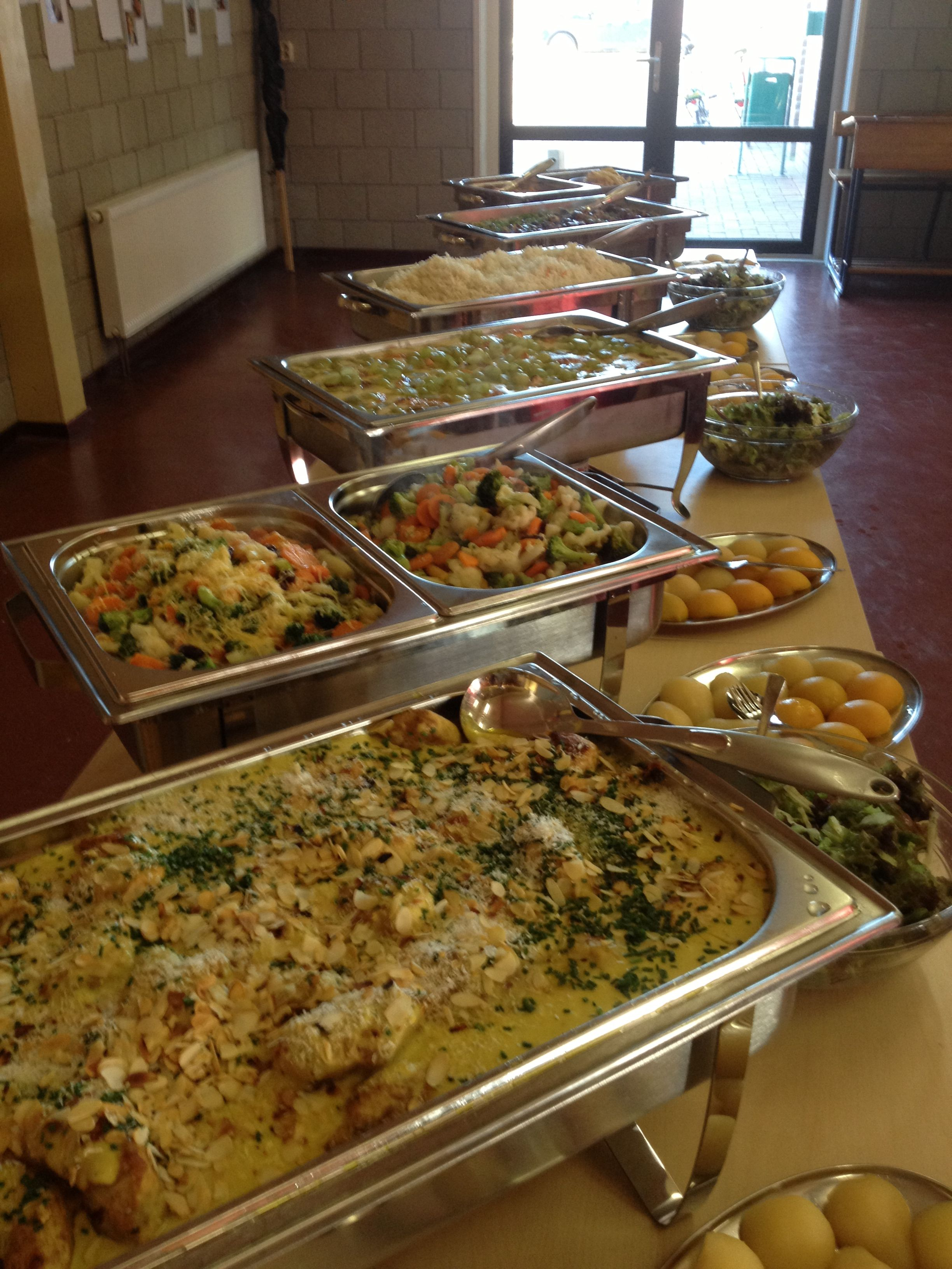 Catering Buffet Set Up Diagram Fishbone In Software Testing Warm The Day Pinterest Frühstück And