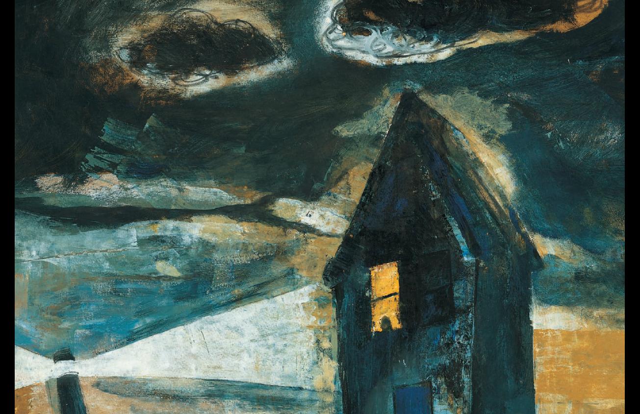 Un enigma planteado en la noche infinita. ¿Qué es la cosa negra? El texto de Blanca Trigo, ella misma una niña cuando lo escribió, lo ha ilustrado su padre, Ramón Trigo, en un contraste magistral de colores azules y negros.
