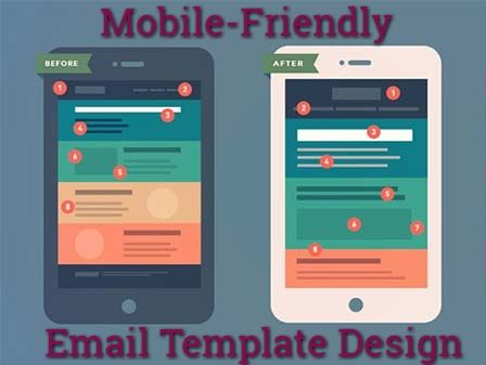 Tips To Accomplish MobileFriendly Email Template Design Design - Mobile friendly email templates