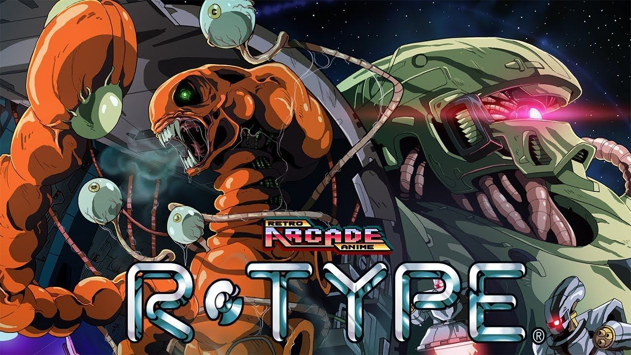 RETRO ARCADE ANIME RTYPE Retro arcade, Anime, Arcade