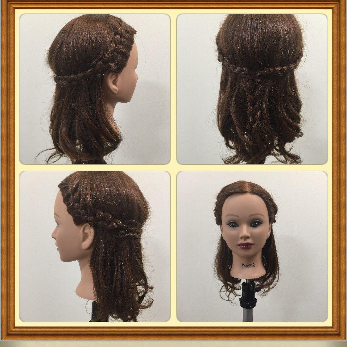 Hippie braid third model day pinterest hippie braids
