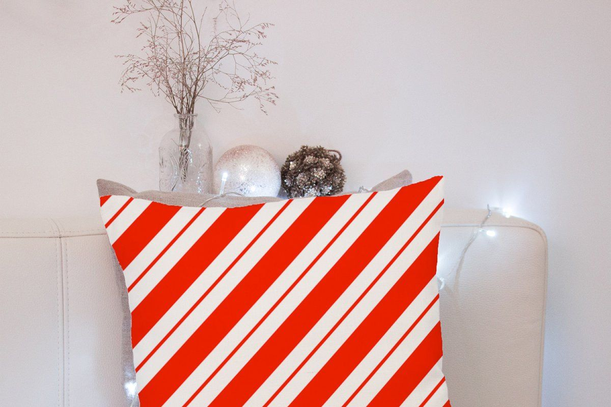 Candy Cane Stripes Vector Patterns