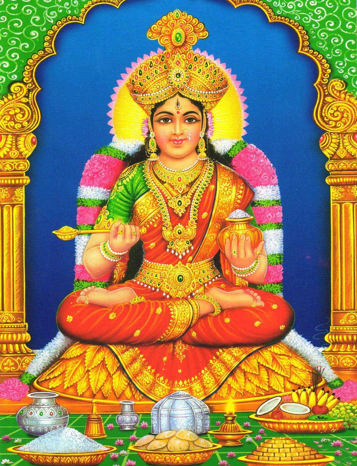 indian_hindu_god_lord_annalakshmi_annapoorani_image_high