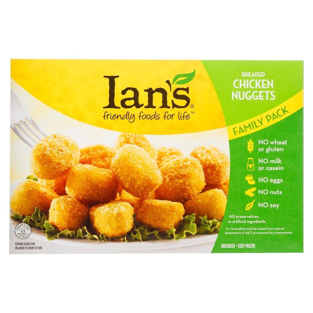 ian s frozen chicken nuggets family pack 20oz in 2020 frozen chicken chicken nuggets frozen chicken nuggets pinterest