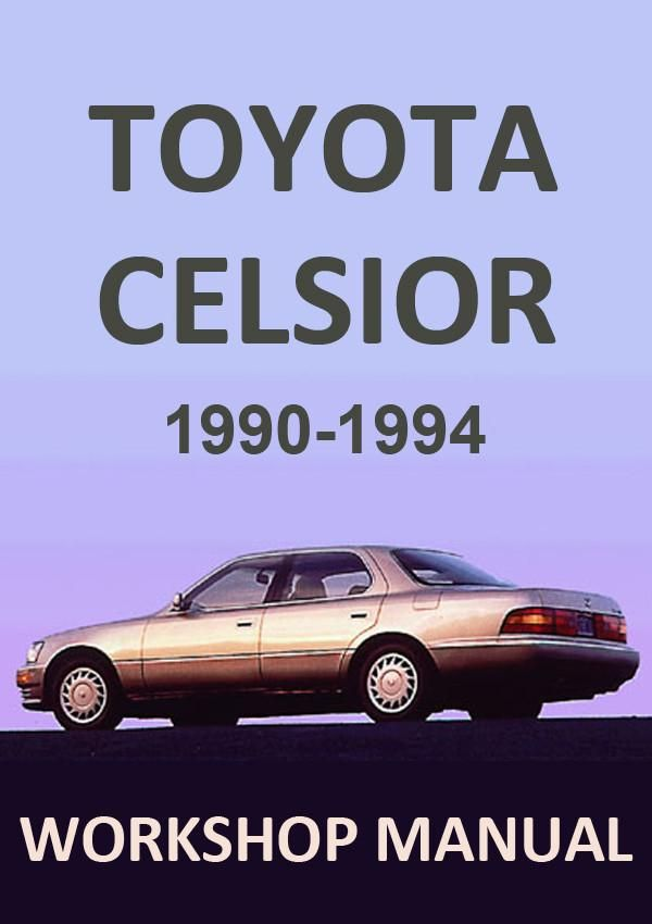 toyota celsior 1990 1994 workshop manual toyota car manuals rh pinterest com toyota soarer workshop manual pdf toyota soarer workshop manual pdf
