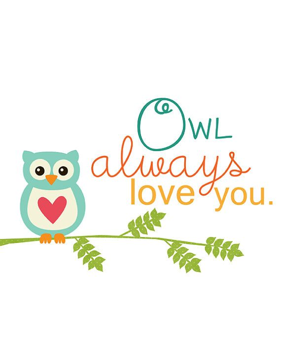 owl always love you | Always love you, Owl always love you ...