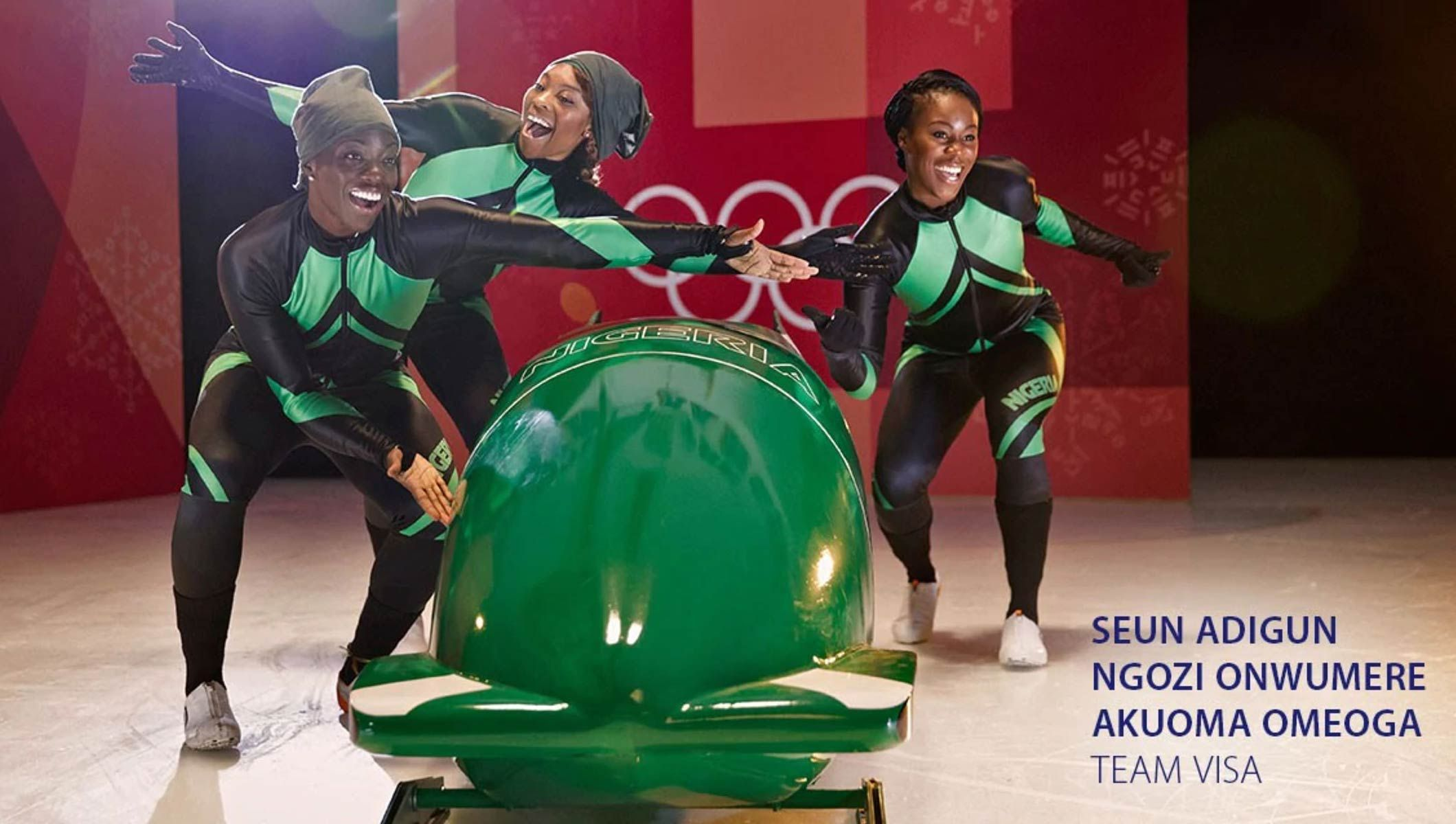 Nigerian Women's Bobsleigh Team joins Team Visa for the Olympic Winter Games PyeongChang 2018