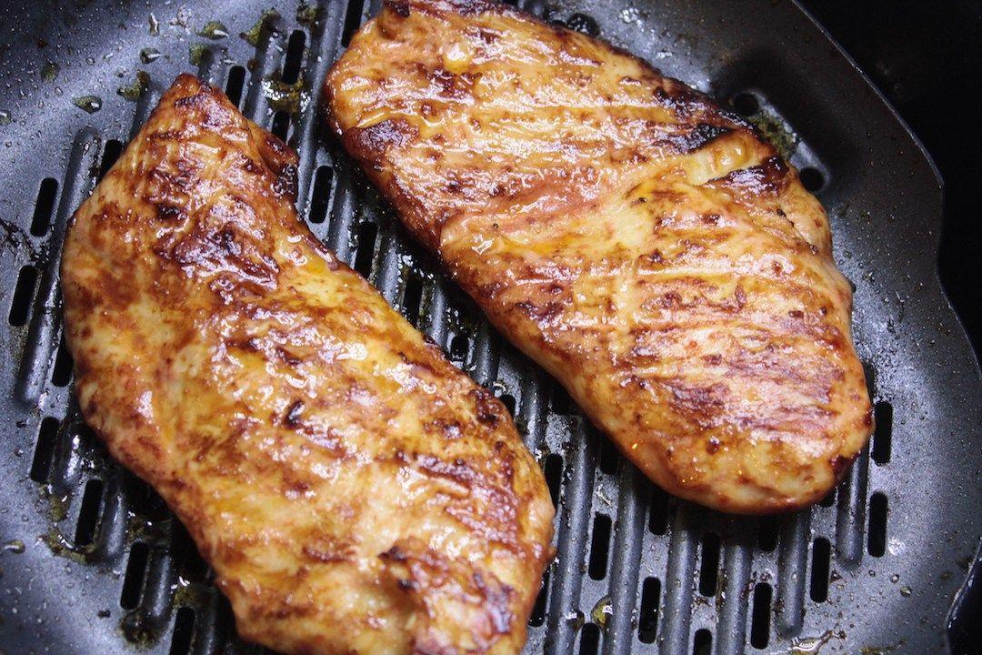 Easy Glazed AirFryer Chicken | Air fryer recipes healthy ...