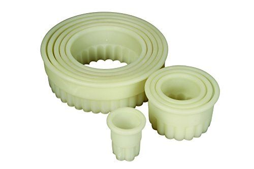 Mercer Culinary 9Piece Round Fluted Nylon Cutter Set *** Click image for more details. (This is an affiliate link) #BakingToolsandAccessories