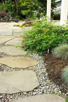 Flagstone Patio Diy Pea Gravel