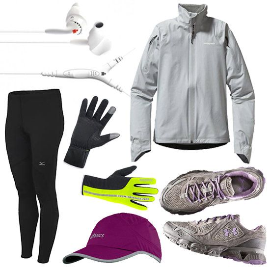 what to wear for run in rain