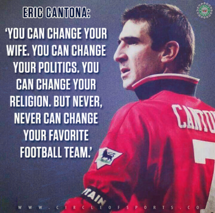 Eric cantona (born may 24, 1966) is a french former footballer of the 1990s. Cantona Motivational Quote