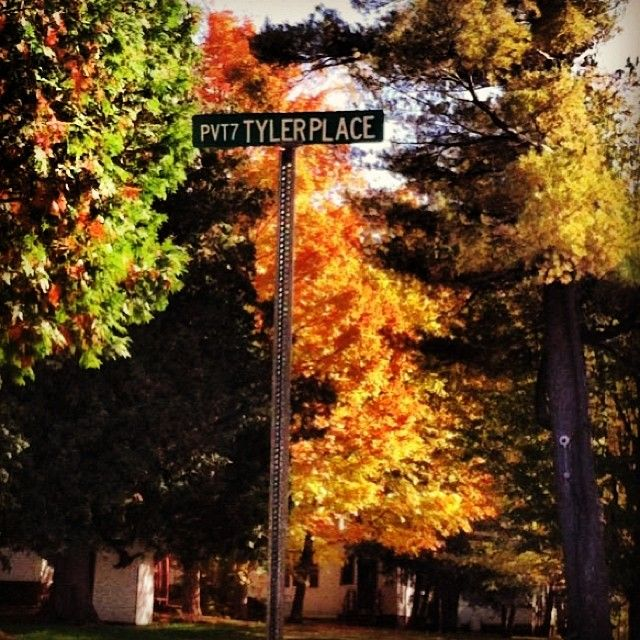 Autumn at the Tyler Place