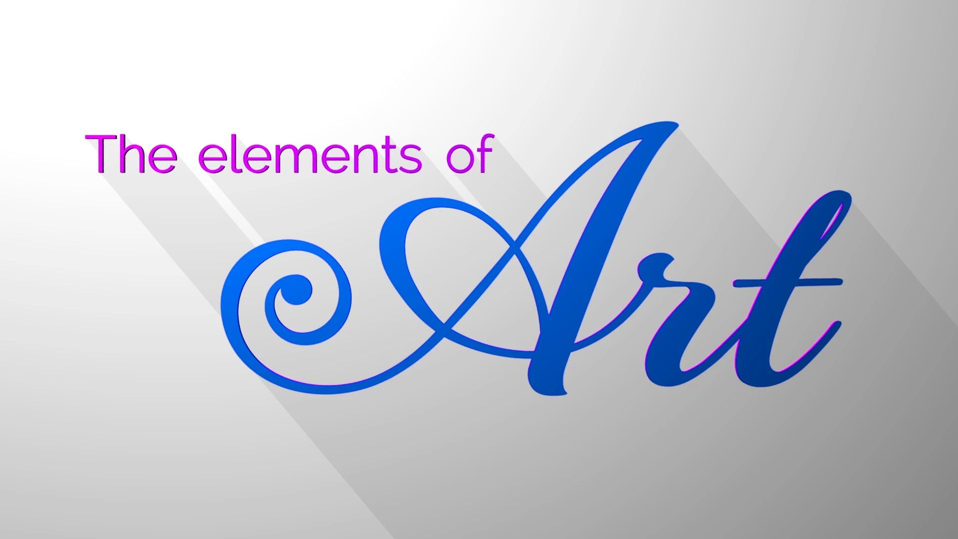 The Elements Of Art By Art Heroes