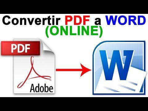 exportar pdf a word