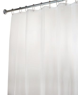 16 99 Interdesign Shower Curtain Liner Eva Extra Wide 108 X 72