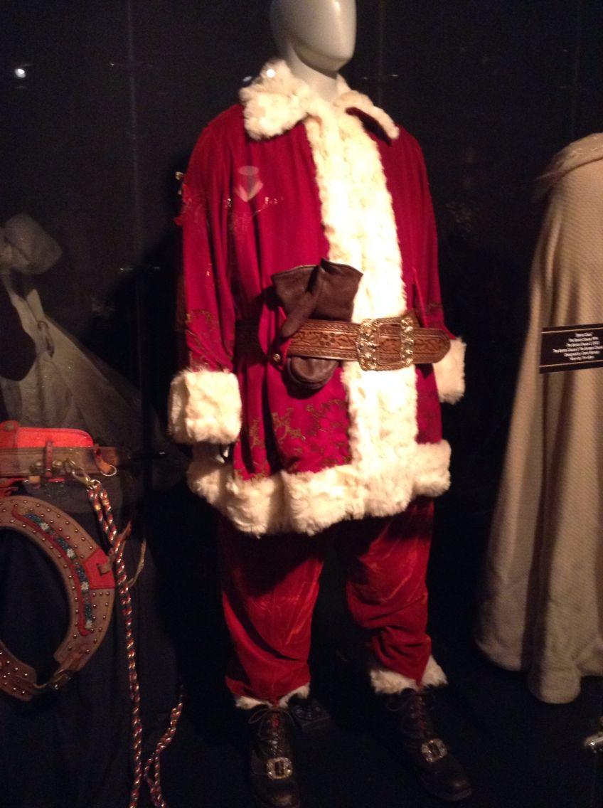 Santa Clause suit; looks like Tim Allen's Santa suit from