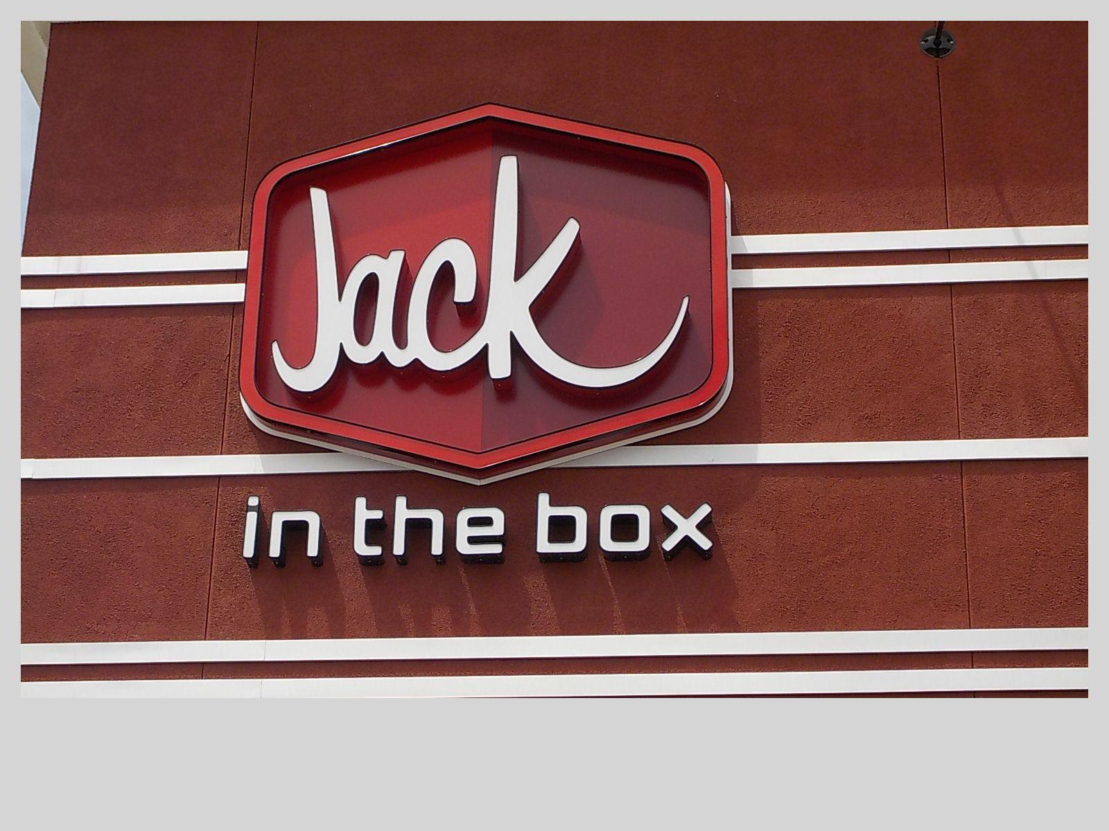 Jack in the box, Palm Desert, CA Jack in the box, Box