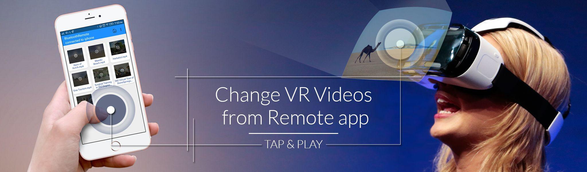 VR Player Remote App Development Company USA Virtual