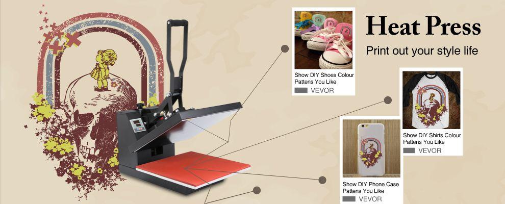 Vevor Heatpressmachine Http Www Vevor Com Heat Press Html Diy Phone Case Diy Shoes Diy Phone
