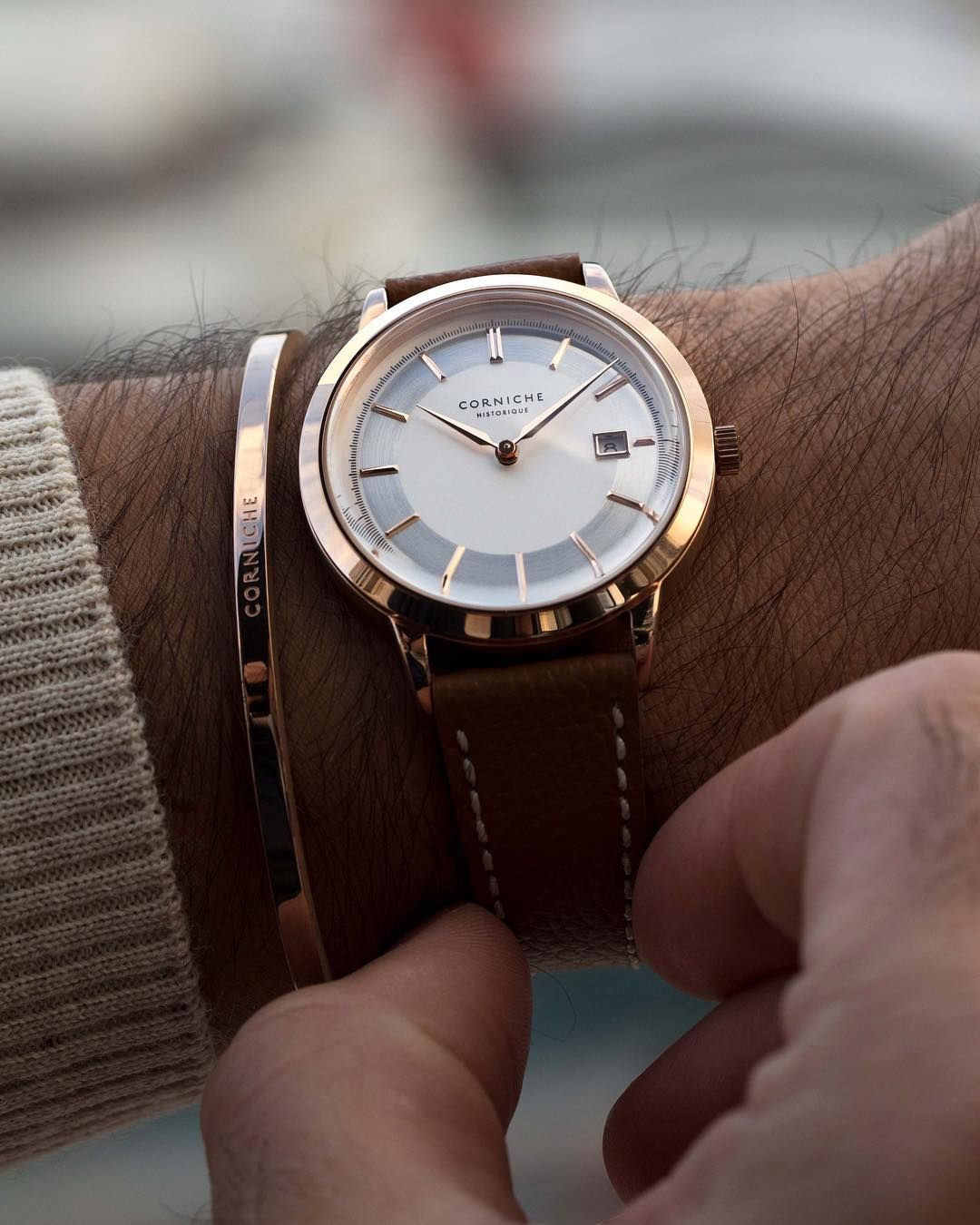 Corniche watches official on instagram ucthe rose gold historique