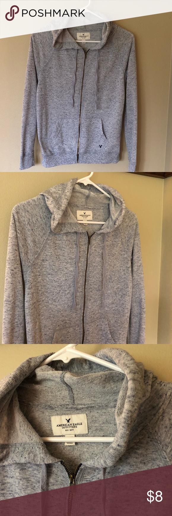75d2ceb99 American eagle light sweatshirt Fun baby blue comfy light sweatshirt ...