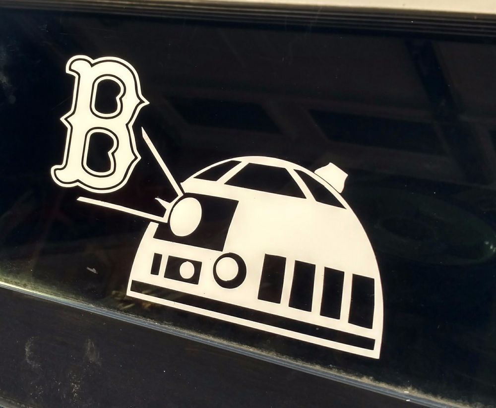 Pin By Rae Kell On Baseball Decals Star Wars Decal Red Sox Baseball Decals [ 823 x 1000 Pixel ]