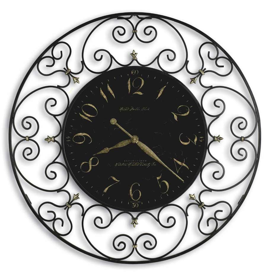 Wrought iron wall clocks the clock depot rod iron pinterest wrought iron wall clocks the clock depot amipublicfo Image collections