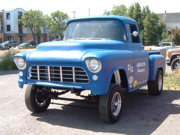 56 Chevy Gasser 55 To 59 Chevy Truck Owners Page 72 Hot Rod