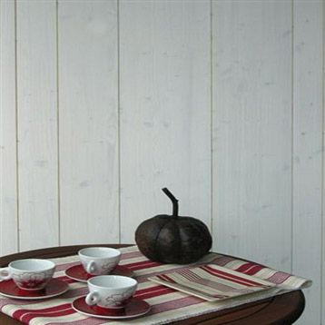 lambris bois sapin brossé blanc, 250x30cm, ép. 15mm   leroy merlin