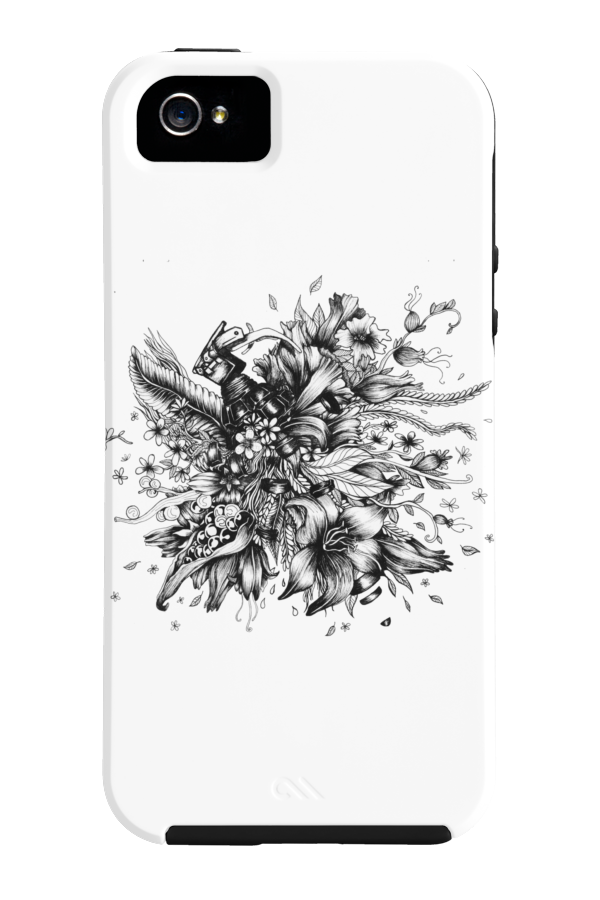 Flower Grenade Phone Case for iPhone 4/4s,5/5s/5c, iPod Touch, Galaxy S4