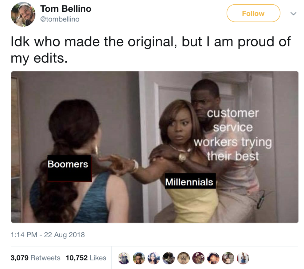 16 Tweets For Anyone Who Believes Millennials Are The Superior Generation Best Funny Photos Funny Memes Funny Photos