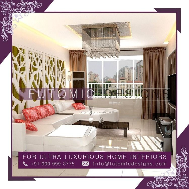 For Luxurious Home Interiors Contact Futomic Design Services Pvt
