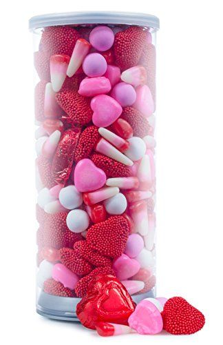 Happy Valentines Day, Valentine Deluxe Mix, Red Foiled Chocolate ...