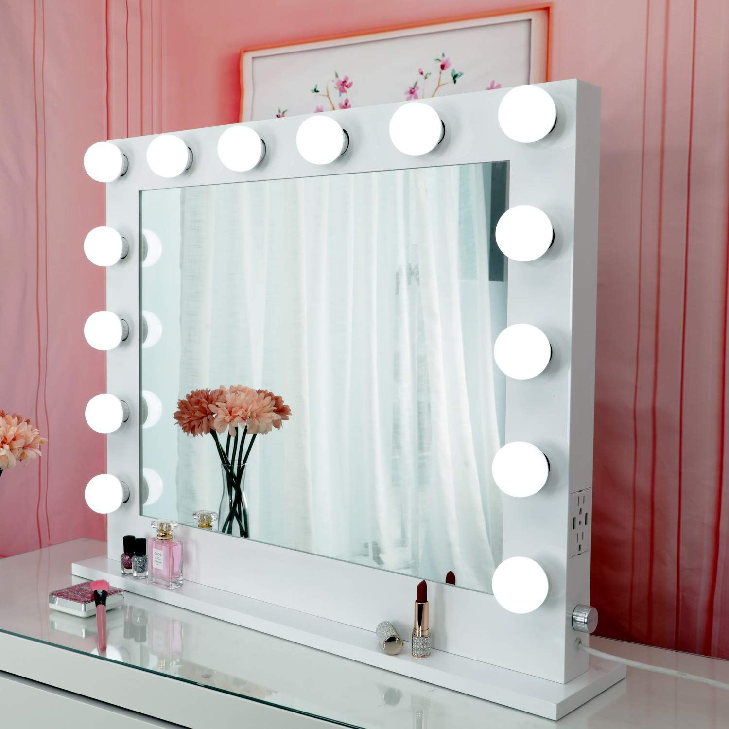 Large Makeup Vanity Mirror with Lights, Professional Light