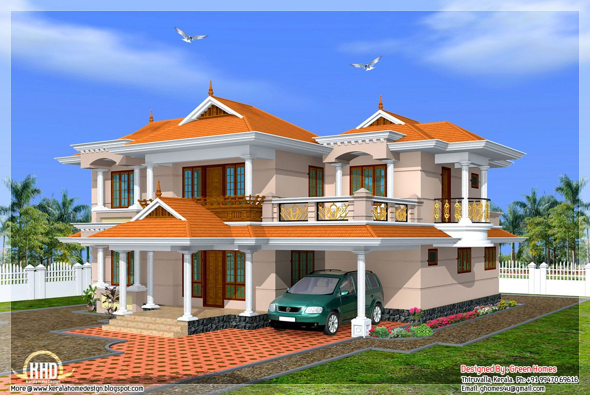 Home Exterior Design Photos, House Elevation Designs, Kerala Home Design,  Kerala House, Attractive Kerala Villa Designs | For The Home | Pinterest |  Kerala, ... Part 85