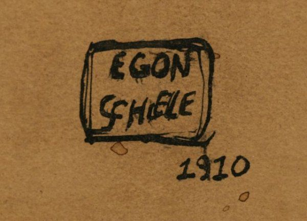 egon schiele signature - Google Search