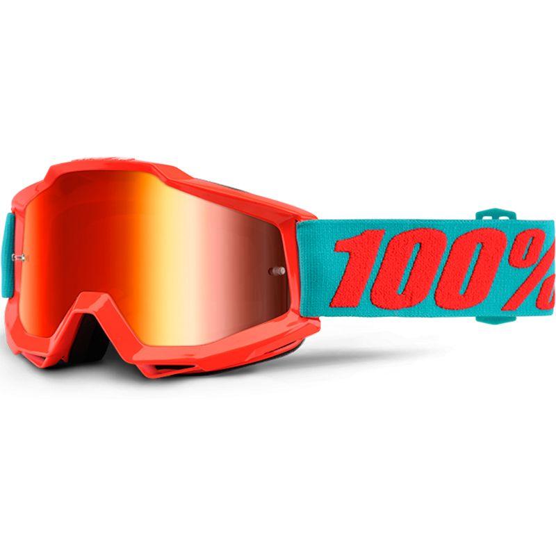 100 Percent Accuri Passion Orange Tinted Goggles Motocross Goggles Mountain Biking Gear Bike