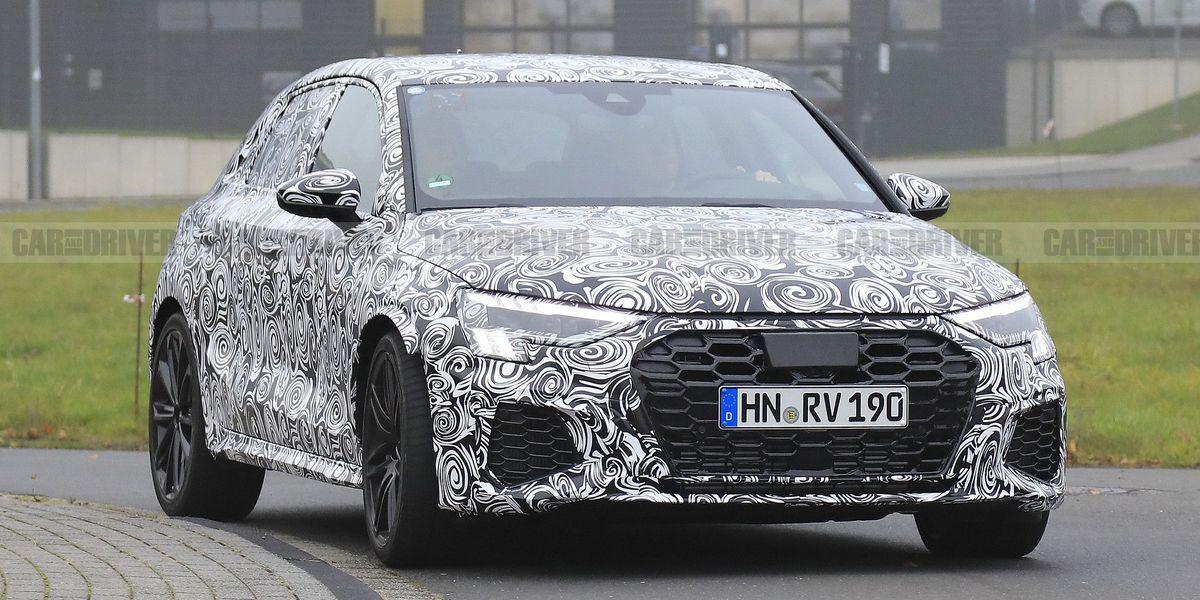 NextGen Audi RS3 Sportback Spied Warming Up on European