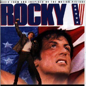 Sylvester Stallone And Tommy Morrison In Rocky V 1990 Motion Picture Soundtrack Songs Elton John Songs