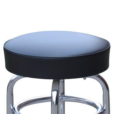Terrific Double Ring Bar Stool Black Products Bar Stools Stool Beatyapartments Chair Design Images Beatyapartmentscom