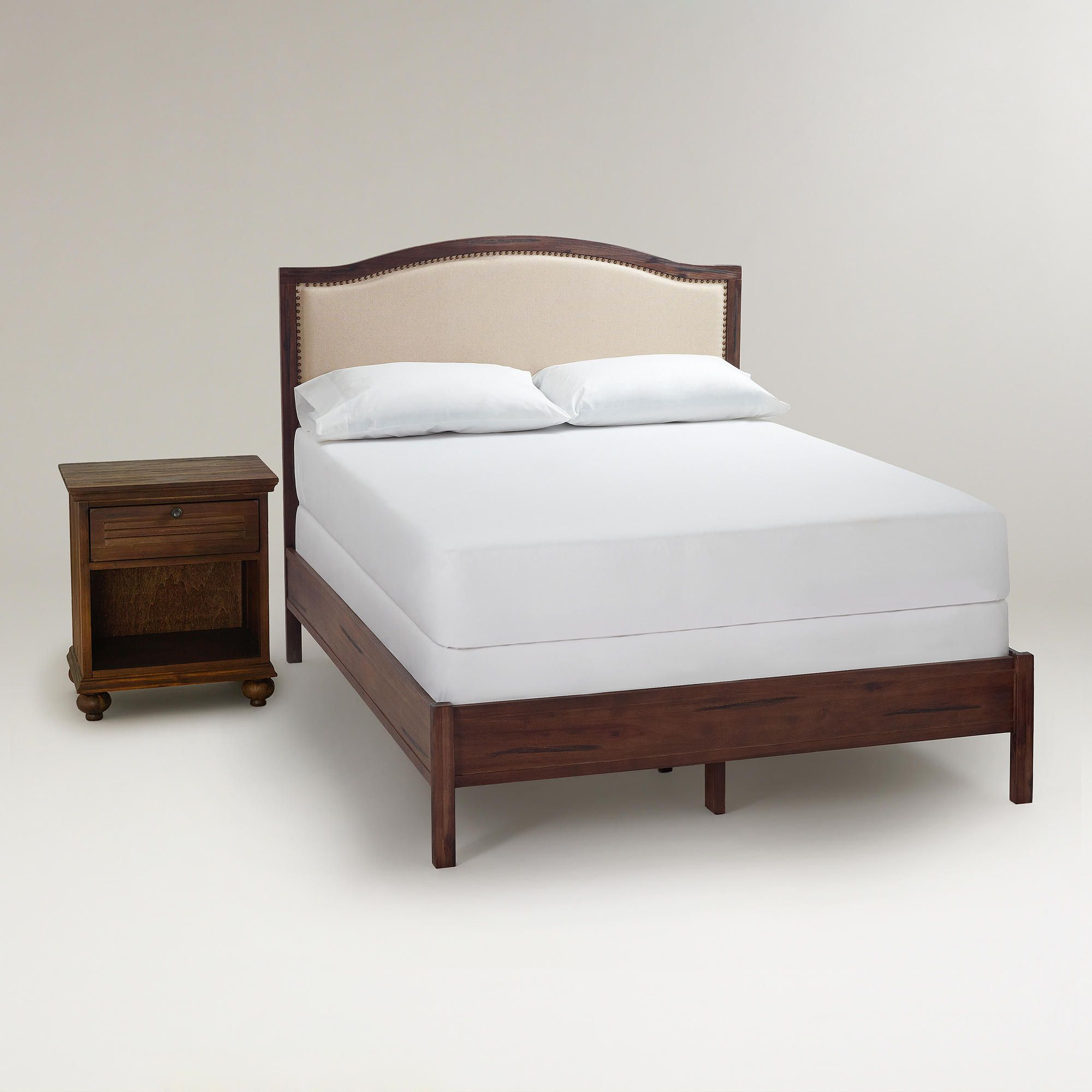 Courtney Furniture Collection Bed Frame And Headboard Queen