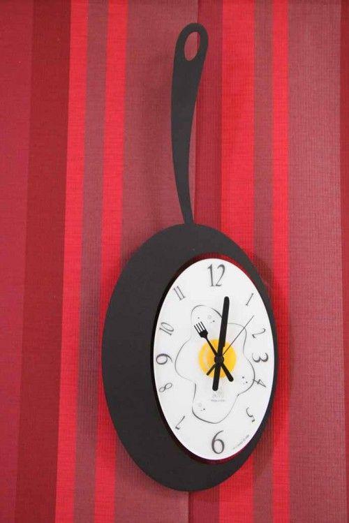 Relojes de Cocina : Mod. OMELETTE negro