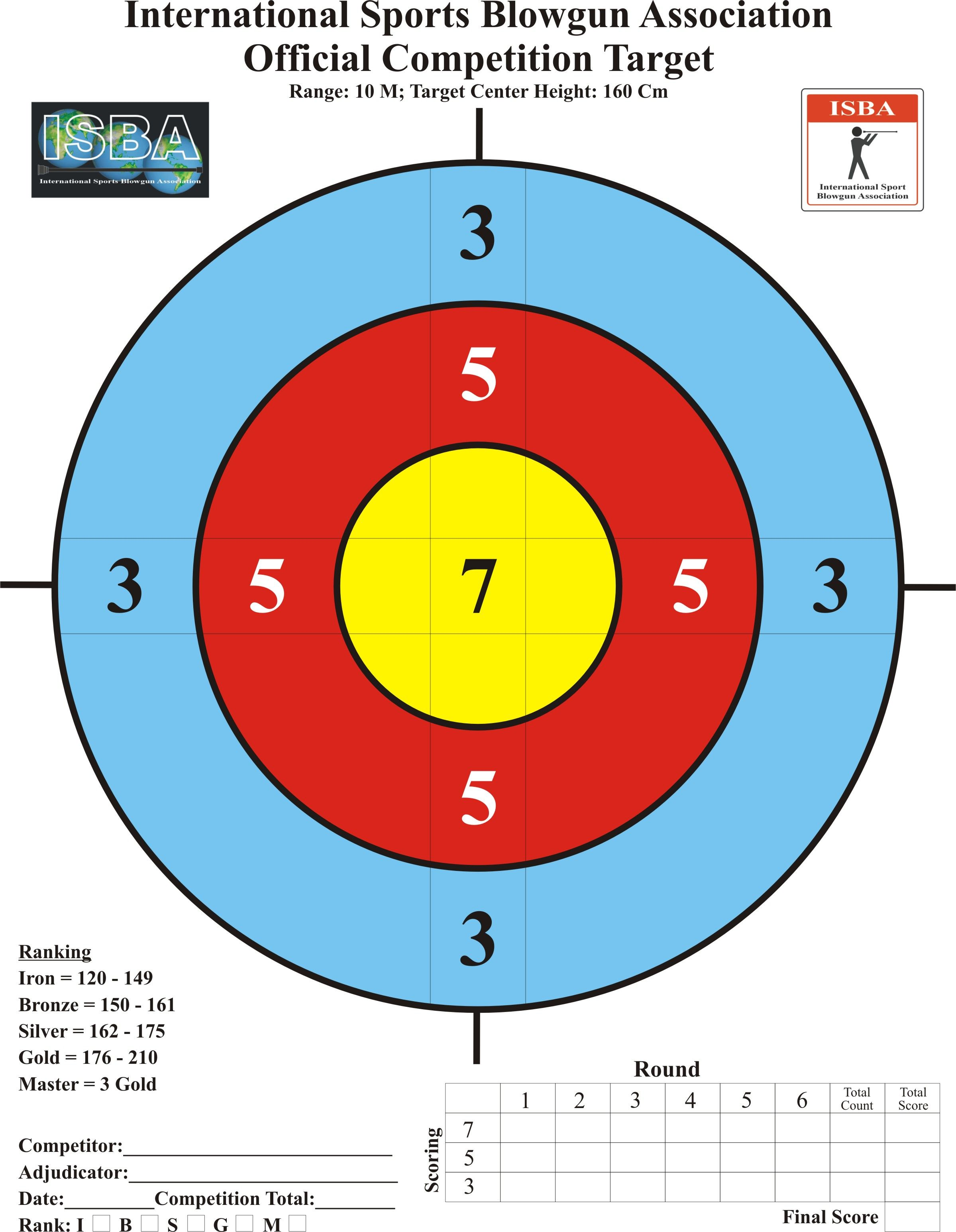 picture about Printable Archery Targets identified as Printable Taking pictures Aims taking pictures goals printable
