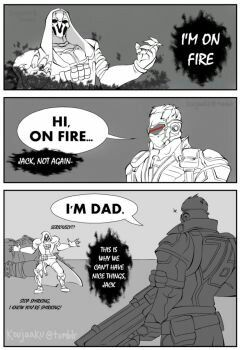Soldier76 I M Dad With Images Overwatch Comic Overwatch Funny